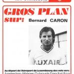 Programme saison 75-76 Nancy-Strasbourg 20-09-75