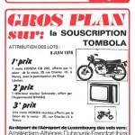Programme saison 75-76 Nancy-Troyes 04-06-76