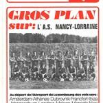 Programme saison 75-76 Nancy-Valenciennes 08-08-75