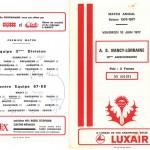 Programme saison 76-77 10 ans ASNL 1