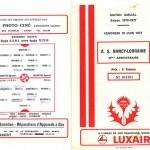 Programme saison 76-77 10 ans ASNL 2