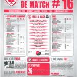 Saison 2013-2014 Journée 16 Feuille de match n°16
