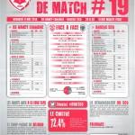 Saison 2013-2014 Journée 19 Feuille de match n°19