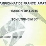 Saison 2014 2015 Schiltigheim Nancy CFA 2