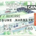 Billet Nancy-Auxerre - Saison 1999-2000 - D1 (34e j, 13 05 2000)