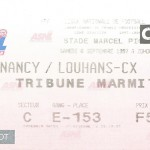 Billet Nancy-Louhans - Saison 1997-1998 - D2 (08e j., 06 09 1997)