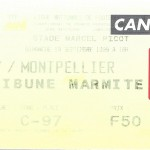 Billet Nancy-Montpellier - Saison 1999-2000 - D1 (07e j, 19 09 1999)