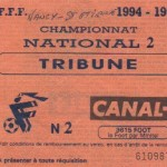 Nancy-Saint Etienne Saison 94-95