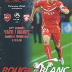 Programme Valenciennes - Nancy J°23 Saison 2011 2012