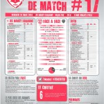 Saison 2013-2014 Journée 17 Feuille de match n°17