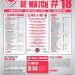 Saison 2013-2014 Journée 18 Feuille de match n°18