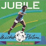 Ticket Jubilé Michel Platini - 23 mai 1988