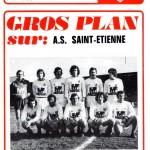 Programme Nancy-St-Étienne - Saison 1974-1975 – Coupe de France (8e de finale aller, 12/04/1975)