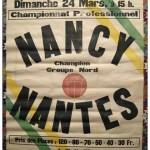 Affiche Nantes FC Nancy