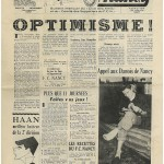 Bulletin mensuel Allez Nancy Février 1950