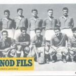 FC Nancy 1949 Carte Pernod
