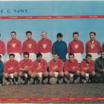 FC Nancy 1960 poster