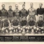 Nancy Lorraine 1943 1944 - Finale coupe Charles Simon