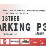 Parking Istres - saison 2013 2014