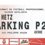 Parking Metz - saison 2013 2014