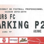 Parking Tours - saison 2013 2014