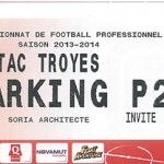 Parking Troyes - saison 2013 2014