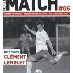 Feuille de match saison 2015-2016 Journée n°10 Ajaccio
