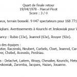 Quart retour - Valenciennes