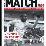 Feuille de match saison 2015-2016 Journée n°18 Valenciennes