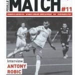 Feuille de match saison 2015-2016 Journée n°22 Nîmes