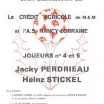 Bon autocollant Perdriau et Stickel