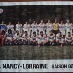 Poster équipe saison 1982 1983