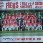 Poster équipe saison 2013 2014
