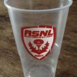 grand verre ASNL plastique
