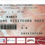 Billet Dijon Nancy - Saison 2015-2016 - L2 (32e j 02-04-2016)