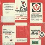 Carte membre associé 1972 1973