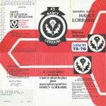 Carte membre associé 1975 1976