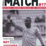 Feuille de match saison 2015-2016 Journée n°31 Lens