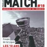 Feuille de match saison 2015-2016 Journée n°35 Sochaux