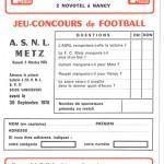 Jeu concours Nancy Metz