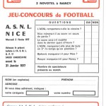 Jeu concours Nancy Nice
