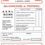 Jeu concours Nancy Reims
