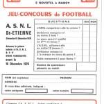 Jeu concours Nancy Saint Etienne