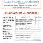 Jeu concours Nancy Rouen