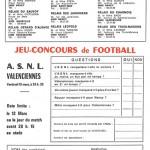 Jeu concours Nancy Valenciennes