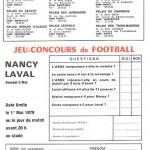 Jeu concours Nancy Laval