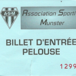 Billet Racing Club de Strasbourg - ASNL 23 07 2016