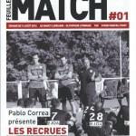 Feuille de match saison 2016-2017 Journée n°01 Lyon