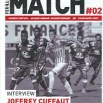 Feuille de match saison 2016-2017 Journée n°02 Guingamp