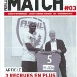 Feuille de match saison 2016-2017 Journée n°03 Nantes